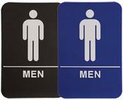 "MEN Stock ADA Sign, 6""x9"" MEN Handicap Stock ADA Sign, 6""x9"" ADA Stock Signs ada sign requirements ada compliant signs custom ada signs ada guidelines signs ada signs wholesale ada bathroom signs ada signs online ADA Office Signs"