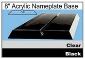 Acrylic Nameplate Base