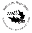 Noel Monogram Stamps