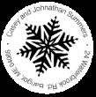Christmas Snow Flake Monogram Stamps