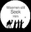 Christmas Wisemen Seek Him Monogram Stamp