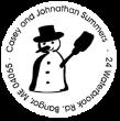 Christmas Snowman Monogram Stamp