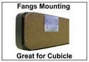 Fangs Partition Mounting Device