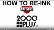 How to Re-Ink your 2000 Plus Stamp