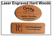 Wooden Name Tags or Badges