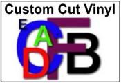 Vinyl Letters or Numbers