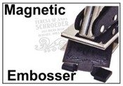 Interchangeable Magnetic Embosser Replacement Die