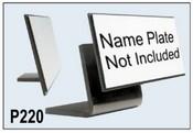 #P220 Black Plastic Angle Base