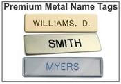 Metal Military Style Name Tags Metal Badges Metal Name Badges