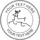 Raindeer Embossing Seal