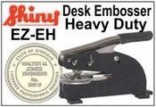 Shiny Model EZ-EH Heavy Duty Desk Embosser