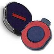 Trodat 6/15/2R Trodat 5215 6/15/2R, 2 Color Round Replacement Pad