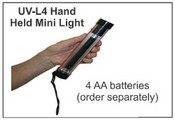 UV-L4 Hand Held Mini UV Light