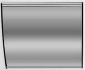 "Vista Door / Wall Nameplate Sign Frame 8.5"" x 11"""