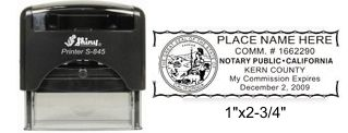 Self-Inking Notary Stamp